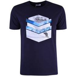 Oblečenie Muži Tričká s krátkym rukávom Bikkembergs  Modrá