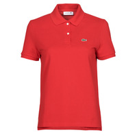 Oblečenie Ženy Polokošele s krátkym rukávom Lacoste POLO REGULAR FIT PF7839 Červená
