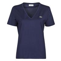 Oblečenie Ženy Tričká s krátkym rukávom Lacoste LOUIS Námornícka modrá