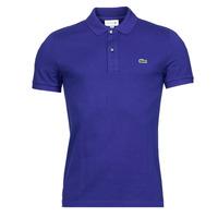 Oblečenie Muži Polokošele s krátkym rukávom Lacoste POLO SLIM FIT PH4012 Modrá / King