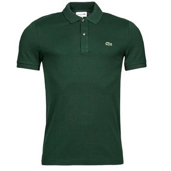 Oblečenie Muži Polokošele s krátkym rukávom Lacoste POLO SLIM FIT PH4012 Zelená