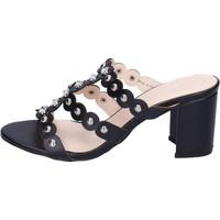 Topánky Ženy Šľapky Silvian Heach BH155 Čierna