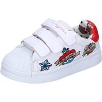 Topánky Dievčatá Nízke tenisky Silvian Heach BH156 Biela