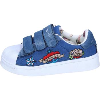 Topánky Dievčatá Nízke tenisky Silvian Heach BH157 Modrá