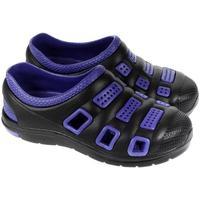 Topánky Muži Nazuvky John-C Pánske gumené čierne šľapky UNISEX NIXI čierna