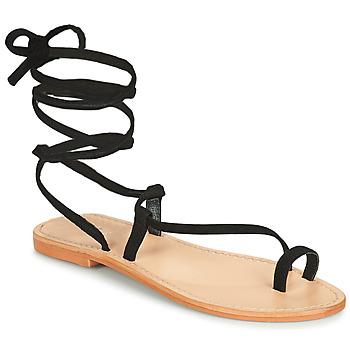 Topánky Ženy Sandále Jonak WALT Čierna