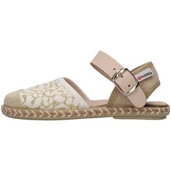 Topánky Dievčatá Sandále Superga S07S775 GOLD