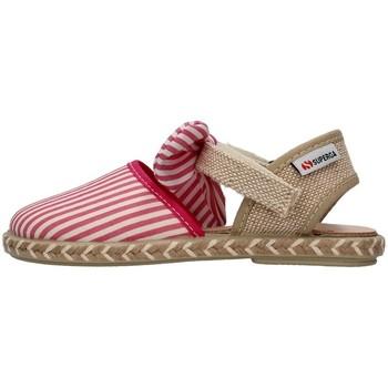 Topánky Dievčatá Sandále Superga S07R940 FUCHSIA
