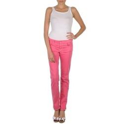 Oblečenie Ženy Nohavice päťvreckové Gant DANA SPRAY COLORED DENIM PANTS Ružová