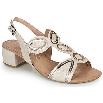 Topánky Ženy Sandále Marco Tozzi ANTHINEA Ružová