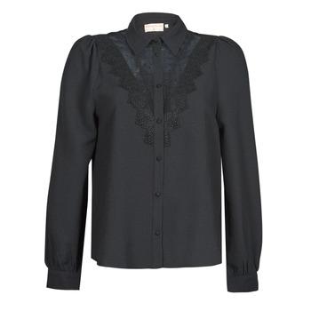 Oblečenie Ženy Košele a blúzky Moony Mood ABBECOURS Čierna
