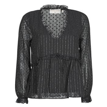 Oblečenie Ženy Blúzky Moony Mood ABBENANT Čierna