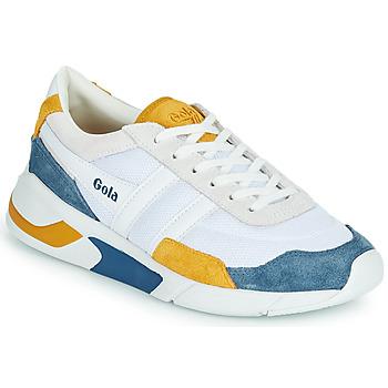 Topánky Ženy Nízke tenisky Gola GOLA ECLIPSE Biela / Modrá / Žltá