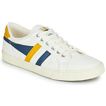 Topánky Muži Nízke tenisky Gola GOLA TENNIS MARK COX Biela / Modrá / Žltá