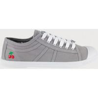 Topánky Ženy Tenisová obuv Le Temps des Cerises Basic 02 Šedá