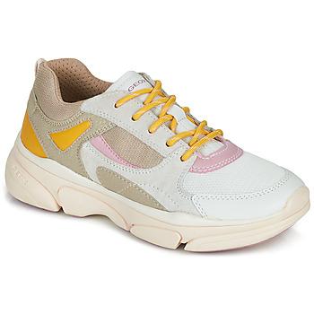 Topánky Dievčatá Nízke tenisky Geox J LUNARE GIRL Béžová