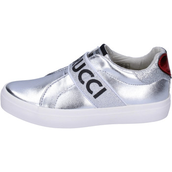 Topánky Dievčatá Slip-on Fiorucci BH178 Strieborná