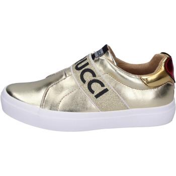 Topánky Dievčatá Slip-on Fiorucci BH179 Zlatá
