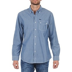Oblečenie Muži Košele s dlhým rukávom Lee Cooper Greyven Modrá