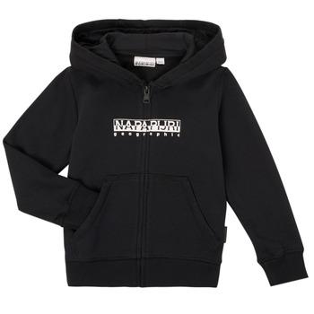 Oblečenie Chlapci Mikiny Napapijri B-BOX FZH Čierna