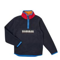 Oblečenie Chlapci Flísové mikiny Napapijri TILO HZ Námornícka modrá