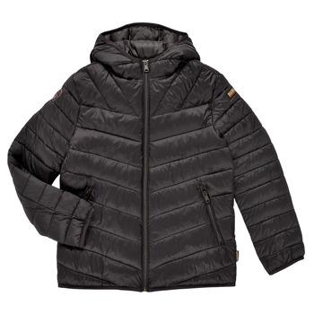 Oblečenie Chlapci Vyteplené bundy Napapijri AERONS Čierna