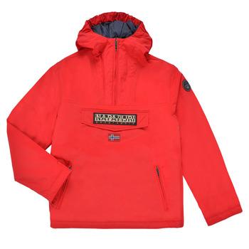 Oblečenie Deti Parky Napapijri RAINFOREST POCKET Červená