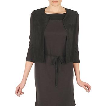 Oblečenie Ženy Cardigany Majestic BERENICE Čierna