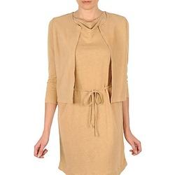 Oblečenie Ženy Cardigany Majestic BERENICE Béžová
