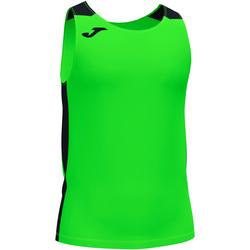 Oblečenie Chlapci Tielka a tričká bez rukávov Joma Débardeur  Record II vert fluo/noir