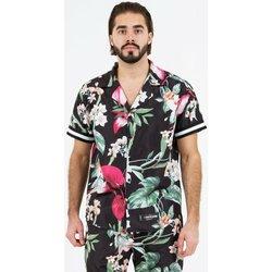 Oblečenie Muži Košele s krátkym rukávom Sixth June Chemise  tropical noir