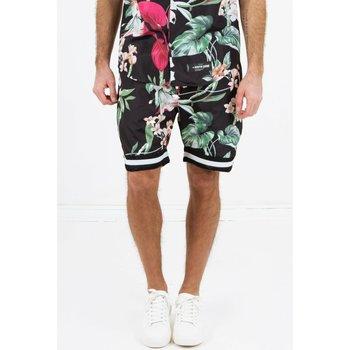 Oblečenie Muži Šortky a bermudy Sixth June Short  tropical noir