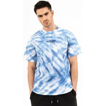 Oblečenie Muži Tričká s krátkym rukávom Sixth June T-shirt  tie dye bleu