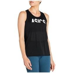 Oblečenie Ženy Tielka a tričká bez rukávov Asics Esnt Gpx Tank Čierna