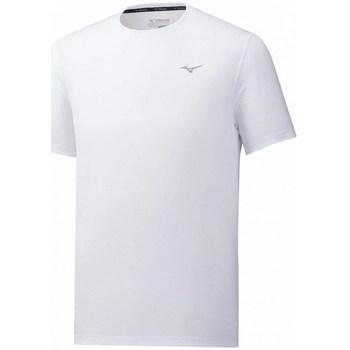 Oblečenie Muži Tričká s krátkym rukávom Mizuno Impulse Core Tee Biela