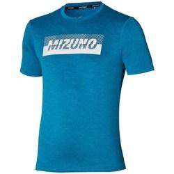 Oblečenie Muži Tričká s krátkym rukávom Mizuno Core Graphic Tee Modrá