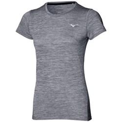 Oblečenie Ženy Tričká s krátkym rukávom Mizuno Impulse Core Tee Sivá
