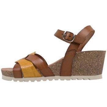 Topánky Ženy Sandále Senses & Shoes  Hnedá