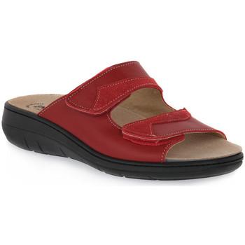 Topánky Ženy Šľapky Emanuela 1242 ROSSO Rosso