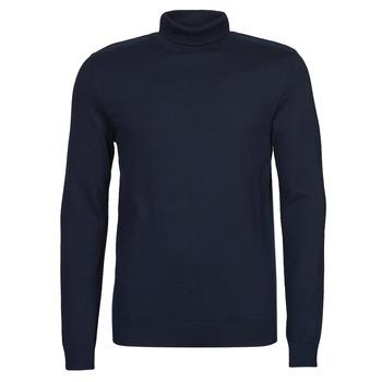 Oblečenie Muži Svetre Selected SLHBERG Námornícka modrá
