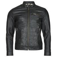 Oblečenie Muži Kožené bundy a syntetické bundy Selected SLHICONIC Čierna