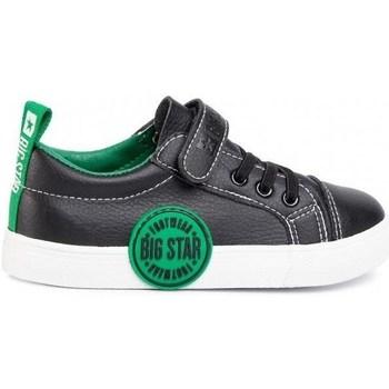 Topánky Deti Nízke tenisky Big Star FF374087 Čierna