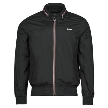 Oblečenie Muži Bundy  Schott CABLS21R Čierna