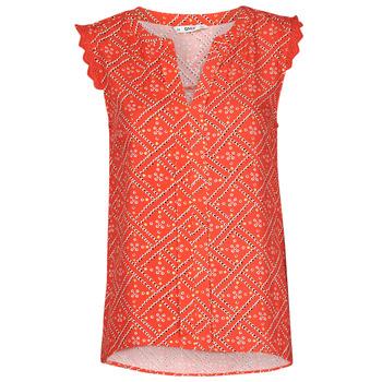 Oblečenie Ženy Blúzky Only ONLVIOLETTE Oranžová