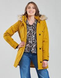 Oblečenie Ženy Parky Vero Moda VMEXCURSIONEXPEDITION Žltá horčicová