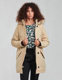 Oblečenie Ženy Parky Vero Moda VMEXCURSIONEXPEDITION Béžová