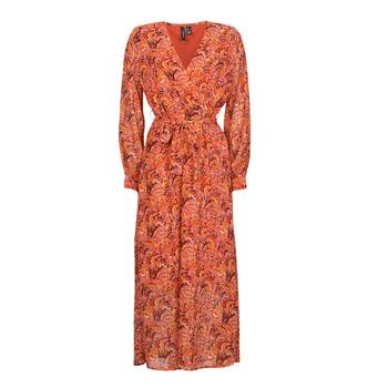 Oblečenie Ženy Dlhé šaty Vero Moda VMFLOW Červená