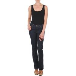 Oblečenie Ženy Rovné džínsy Lee MARION STRAIGHT Modrá