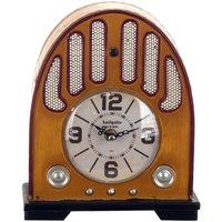 Domov Hodiny Signes Grimalt Rádio So Stolovými Hodinami Beige