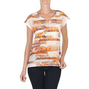 Oblečenie Ženy Tričká s krátkym rukávom TBS JINTEE Biela